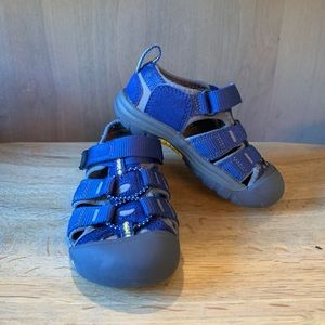 Keen Navy Blue Toddler size 7 shoes